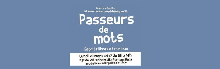 RDV le lundi 20 mars pour la Journée Passeurs de Mots !